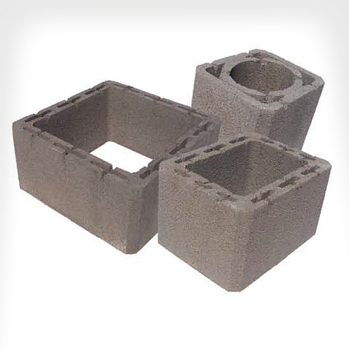 Elementi canna fumaria cemento – Terminali antivento per stufe a pellet
